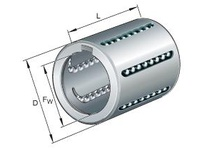 INA KH1228PP Linear drawn cup ball bearing