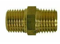 MRO 28815 1/8 BSPT X 1/8 MIP HEX NIPPLE