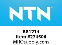 NTN K81214 THRUST NEEDLE RB(OTHERS)