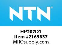NTN HP207D1 Cast Housing