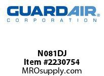 "Nordair N081DJ 8 Gallon D Vacuum Unit With 1.5"" In"