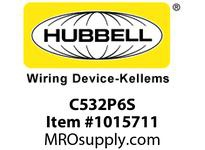 HBL-WDK C532P6S PS C-IEC PLUG 4P5W 32A 220-415V S/P