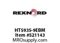 REXNORD HT5935-9EBM HT5935-9 E8-1/8D 148347