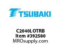 US Tsubaki C2040LOTRB C2040LOTUS RIVETED
