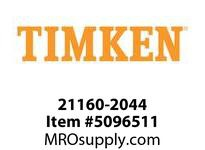 TIMKEN 21160-2044 Seals Hi-Performance <8