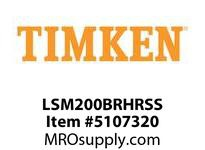 TIMKEN LSM200BRHRSS Split CRB Housed Unit Assembly