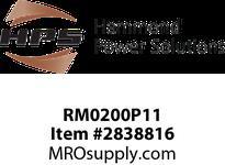 HPS RM0200P11 IREC 200A 0.110MH 60HZ CC Reactors
