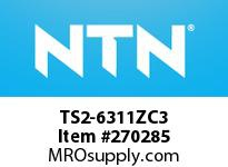 NTN TS2-6311ZC3 MEDIUM SIZE BALL BRG(STANDARD)