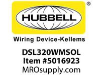 HBL_WDK DSL320WMSOL SWITCHDECO3W20A 120/277VWHSWL
