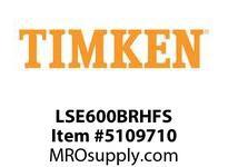 TIMKEN LSE600BRHFS Split CRB Housed Unit Assembly