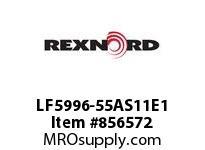 REXNORD LF5996-55AS11E1 LF5996-55 1AS-T11P LF5996 55 INCH WIDE MATTOP CHAIN WI