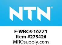 NTN F-WBC5-10ZZ1 EXTRA SMALL BALL BRG