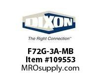 DIXON F72G-3A-MB 3/8 FILTER AUTO DRAIN METAL BOWL