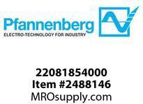 Pfannenberg 22081854000 BR35-4 plinth mounting 12V DC Signal Tower