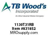 TBWOODS 1130T31RB 1130T31XSOLID G-FLEX HUB