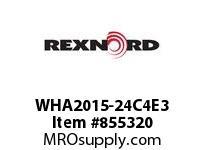 REXNORD WHA2015-24C4E3 WHA2015-24 C4 T3P N1.33
