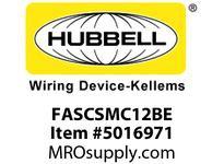 HBL_WDK FASCSMC12BE FIBER ADAPTSCSMPLXSNAPMTP-BZ12PKBE