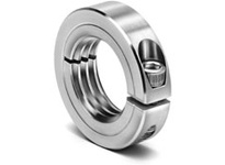 Climax Metal ISTC-125-12-S 1 1/4-12 ID Threaded Stnls Split Shaft Collar
