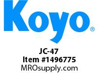 Koyo Bearing JC-47 NEEDLE ROLLER BEARING CAGE AND ROLLER ASSEMBLY