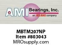 AMI MBTM207NP 35MM STAINLESS NAR SET SCREW NICKEL SINGLE ROW BALL BEARING