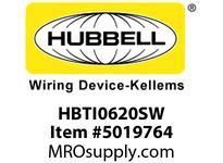 HBL_WDK HBTI0620SW WBPRFRM INTER6Hx20WPREGALVSTLWLL