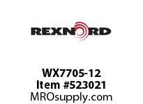 REXNORD WX7705-12 WX7705-12 173574