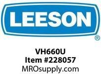 LEESON VH660U MOD - VH MOUNT FOR 660 SERIES / OUTPUT SHAFT UP