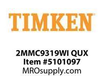 TIMKEN 2MMC9319WI QUX Ball P4S Super Precision