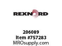 REXNORD 206089 EA01332 E20 55MM H7 X 1.625