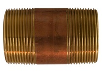 MRO 40152 1-1/2 X 9 RED BRASS NIPPLE