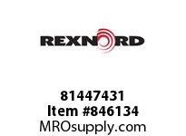 REXNORD 81447431 LF879TK3.25 E2 T1P 1/4DIA LF879TK3.25 E2 T1P 1/4^DIAMETER HOL