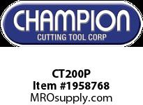 Champion CT200P PILOT PIN FOR CT200 CUTTERS