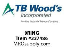 TBWOODS 9RING WIRE RING 9 SF