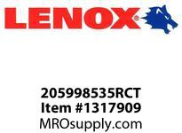 Lenox 205998535RCT RECIPS-8535RCT 8^ STRAIGHT BACK - 200 X 20 X 13