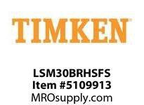 TIMKEN LSM30BRHSFS Split CRB Housed Unit Assembly