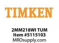 TIMKEN 2MM218WI TUM Ball P4S Super Precision