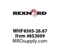 REXNORD WHF8505-26.67 WHF8505-26.67 WHF8505 26.67 INCH WIDE RUBBERTOP M