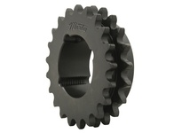 D50CTB102 (2517) Double Roller Chain Sprocket Taper Bushed