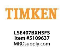 TIMKEN LSE407BXHSFS Split CRB Housed Unit Assembly