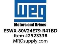 WEG ESWX-80V24E79-R41BD XP STRTR N79 50HP@460V 230VCoi Panels