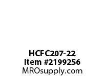 PTI HCFC207-22 PILOTED 4-BOLT FLANGE BEARING-1-3/8 HCFC 200 SILVER SERIES - NORMAL DUT