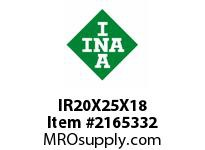 INA IR20X25X18 Inner ring
