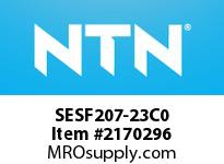 NTN SESF207-23C0 Stainless-Square flanged unit