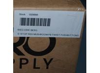 WEG CSW-BESG E-Stop Red Mushroom Pb Twist Pushbuttons