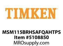 TIMKEN MSM115BRHSAFQAHTPS Split CRB Housed Unit Assembly