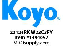 Koyo Bearing 23124RK W33C3FY BRASS CAGE-SPHERICAL BEARING