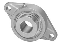 IPTCI Bearing SNASFL205-16 BORE DIAMETER: 1 INCH HOUSING: 2-BOLT FLANGE HOUSING MATERIAL: STAINLESS STEEL