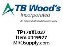 TBWOODS TP170XL037 TP170XL037 SYNC BELT TP