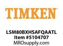 TIMKEN LSM80BXHSAFQAATL Split CRB Housed Unit Assembly