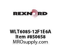 REXNORD WLT6085-12F1E6A LT6085-12 F1 T6P N1.5 LT6085 12 INCH WIDE MATTOP CHAIN WI